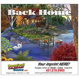 Back Home Promotional Calendar  Stapled