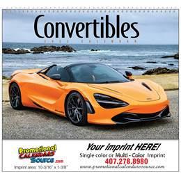 Convertible Sport Cars Promotional Calendar, , Spiral