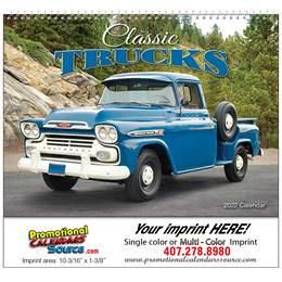Classic Trucks Promotional Calendar  - Spiral