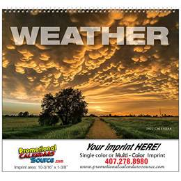 Weather Almanac Promotional Calendar  - Spiral