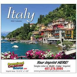 Italy Promotional Calendar  Stapled