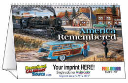 America Remembered Desk Tent Calendar