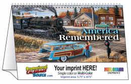 America Remembered Desk Tent Calendar