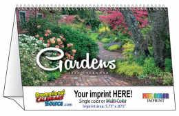 Gardens Promotional Desk Calendar