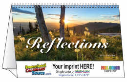 Reflections Promotional Tent Desk Calendar