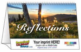 Reflections Promotional Tent Desk Calendar