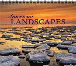 American Landscapes Scenic Wall Calendar, 13.5x24