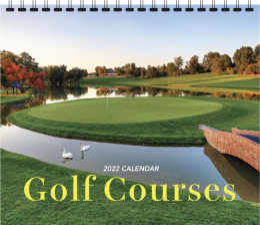 Golf Courses Promotional Calendar, 13.5x24