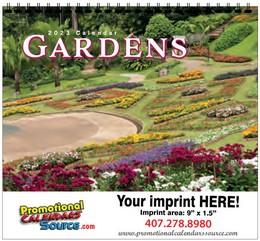 Splendid Gardens Calendar w Spiral Binding