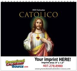 Catolico Religious Calendar w Spiral Binding