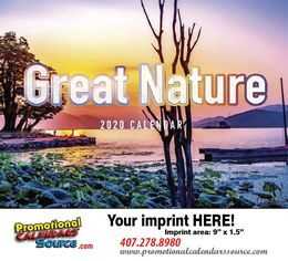 Great Nature Scenic Promotional Calendar