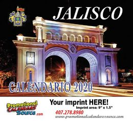 Jalisco Promotional Calendar  Calendario