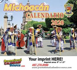 Michoacan Promotional Calendar  Calendario