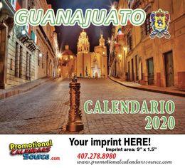 Guanajuato Promotional Calendar  Calendario