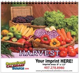 Harvest Calendar w Spiral Binding