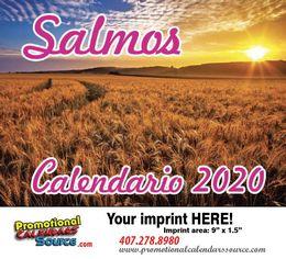 Salmos Calendario 2020 Bilingue, Religious