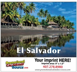 El Salvador Walll Calendar  Calendario