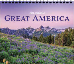 Great America 3 Mont At A Glance Scenic Calendar