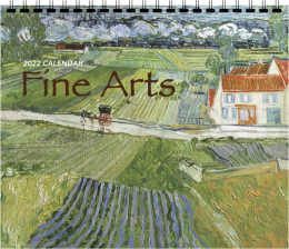 3 Mont View Promotional Calendar Fine Arts Theme