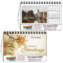 Fine Arts Desk Calendar 8.25x5.25