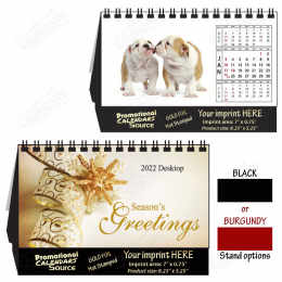 Cute Puppies Desktop  -  Promotional Calendar