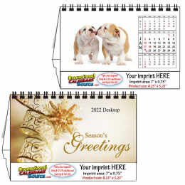 Puppies Desktop Calendar