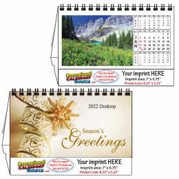 Beautiful America Tent Desk Calendar