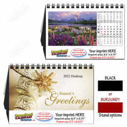 Splendid Gardens Large Desk Calendar