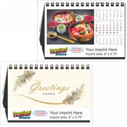 Sushi Large Tent Desk Calendar, 9.5