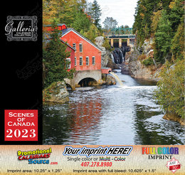 Scenes of Atlantic Canada Value Calendar Stapled