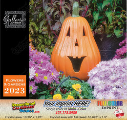 Flowers and Gardens Calendar Stapled