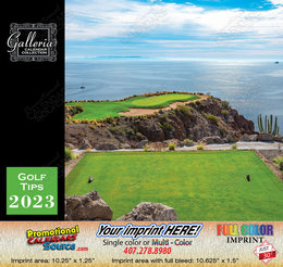 Golf Tips Wall Calendar