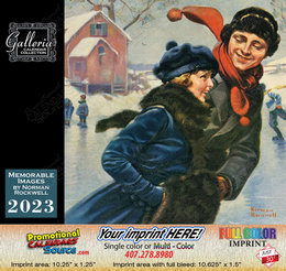Norman Rockwell Memorable Images Art Calendar,