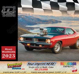 Road Warriors Cars Calendar