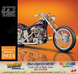Exotic Motorcycle Mania Calendar