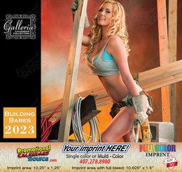 Building Contractors Babes Calendar