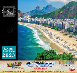 Beauty of Latin America Bilingual Calendar Spanish/English