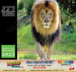 International Wildlife Calendar Stapled