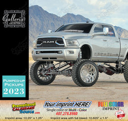 Pumped-Up Pickup Trucks Calendar