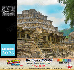 Scenic Mexico Bilingual Spanish/English Calendar