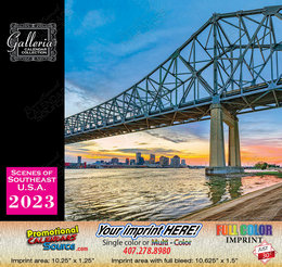 Scenes of South East USA Calendar