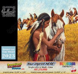 Spirit of the West Art Calendar