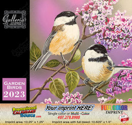Garden Birds Customized Calendar