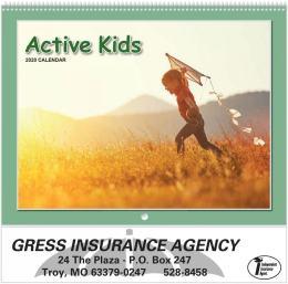 Active Kids 2020 Calendar, Spiral