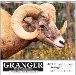 Wildlife Wonders 2020 Calendar, Spiral