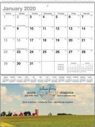Heartland Vista Single Pocket Calendar