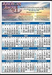 Custom Full Year-In-View Calendar Printed in Full Color 22
