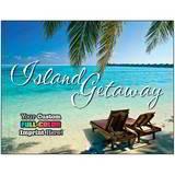 Island Getaway Promotional Calendar