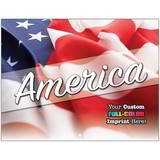 Patriotic Promotional Mini Custom Calendar