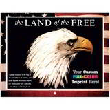 Land Of The Free Promotional Mini Custom Calendar